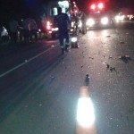 Acidente na BR 356 deixa motociclistas feridos em SJB