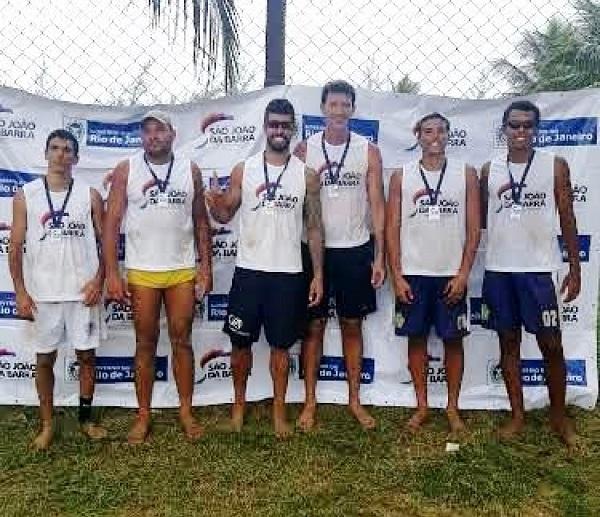 Sanjoanenses conquistam 2º lugar no Vôlei de Praia