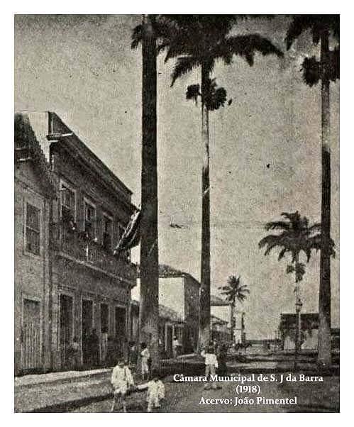 Breve histórico da Câmara Municipal de São João da Barra