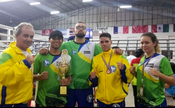 Sanjoanenses entre os melhores do mundo no Muay Thai na Tailândia