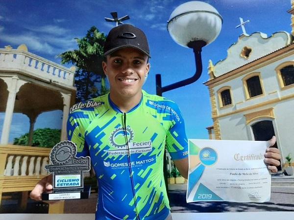 Atleta sanjoanense conquista título de Campeão Estadual