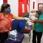 Confira calendário de entrega de cestas básicas e kits de limpeza em SJB