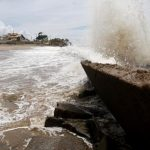 Alerta para ventos fortes e ressaca do mar em SJB