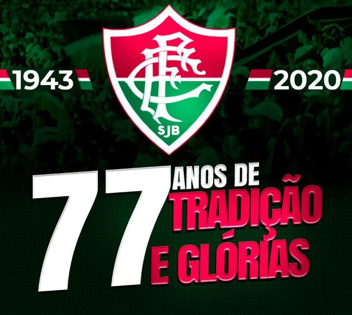 Fluminense, time mais antigo de SJB, completa 77 anos