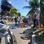 Ciclista morre após ser atropelado por ônibus em Campos