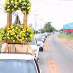 Consagração à Nossa Senhora Aparecida com missas, carreatas e homenagens em SJB