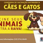 Confira locais de vacinação antirrábica em SJB