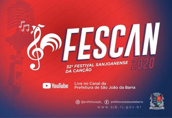 Hoje tem Fescan virtual em SJB – Veja ordem de apresentação