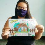 Aluna da Apae de SJB é finalista em concurso de desenho