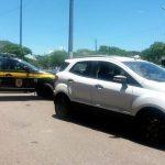 PRF recupera em Campos carro roubado no RJ