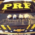 Homem preso pela PRF com 200 munições dentro de carro adulterado em Campos