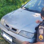 Carro roubado é recuperado em SJB