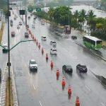 Chuva forte volta a atingir o Rio e Marinha faz alerta de ressaca