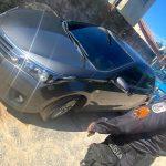 *Vídeos* - Polícia Militar recupera carro roubado de assalto em SJB