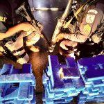 Vídeos - PRF e PM apreendem 75kg de maconha em Campos