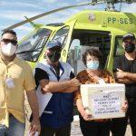 SJB recebe 1.260 vacinas contra a Covid-19