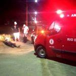 Vídeos - Motoboy ferido em acidente em SJB