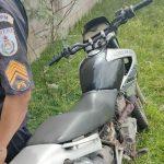 PM recupera motocicleta furtada em SJB