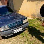 Carro furtado em Campos é encontrado em SJB