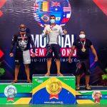 Atleta sanjoanense sobe ao pódio no Campeonato Mundial de Jiu-Jitsu no RJ