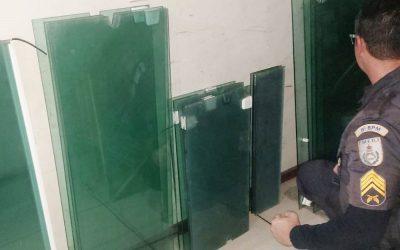 PM recupera material furtado em SJB