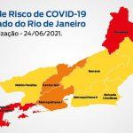 Estado do Rio se mantém com risco baixo para Covid-19