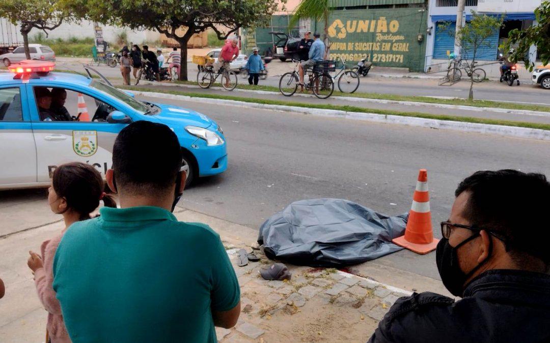 Homem morre após ser atropelado por moto em Campos