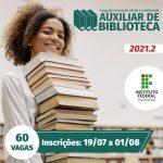 IFF oferece vagas para curso de Auxiliar de Biblioteca