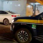 PRF apreende carro furtado no ES na BR 101 em Campos