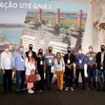 Vereadores de SJB presentes na inauguração da usina termelétrica GNA I