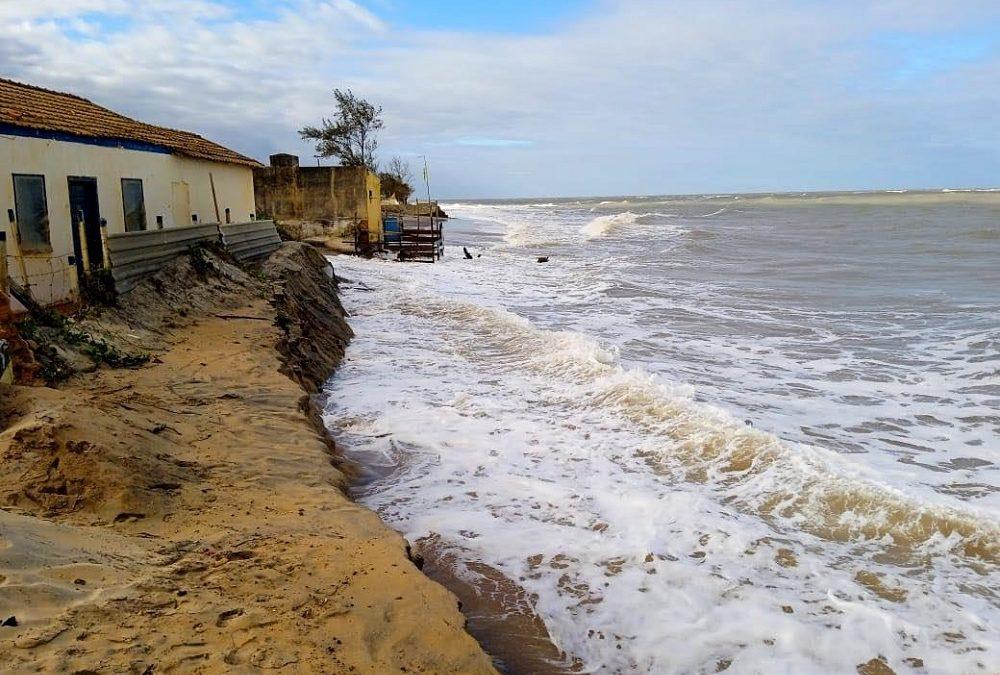 Previsão de ressaca e ventos fortes na região deixa SJB em estado de atenção