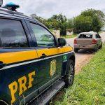 Carro roubado em Quissamã é recuperado pela PRF na BR 356, em Campos