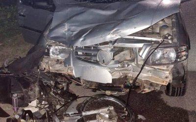Acidente termina com homem preso após roubo de moto em SJB