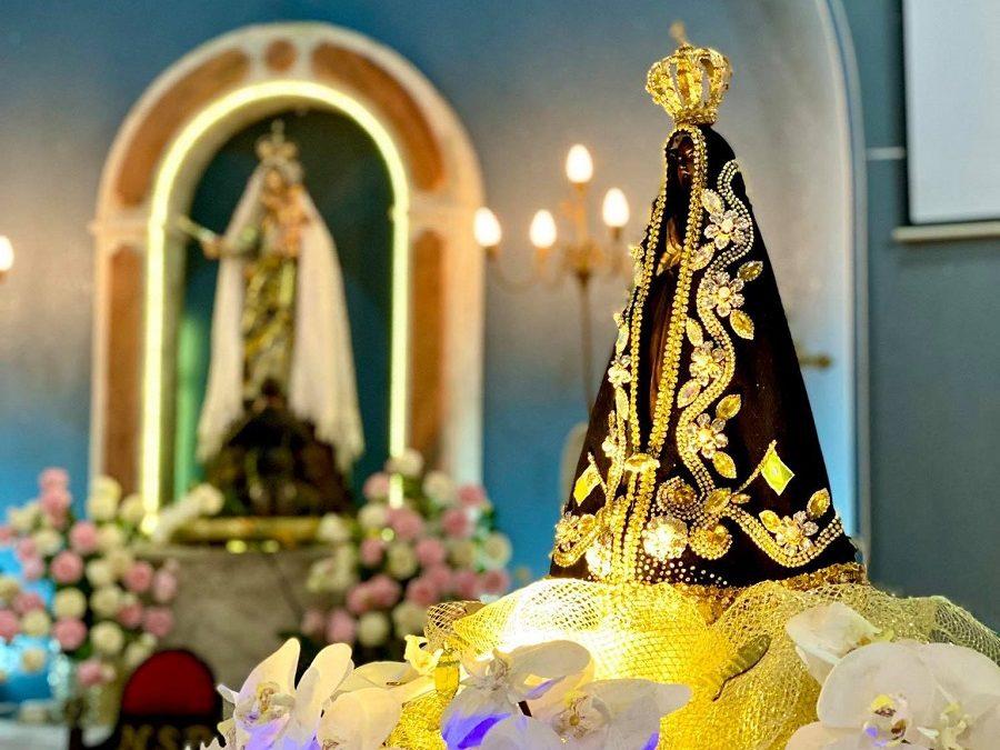 SJB comemora 1 ano de Consagração à Nossa Senhora Aparecida