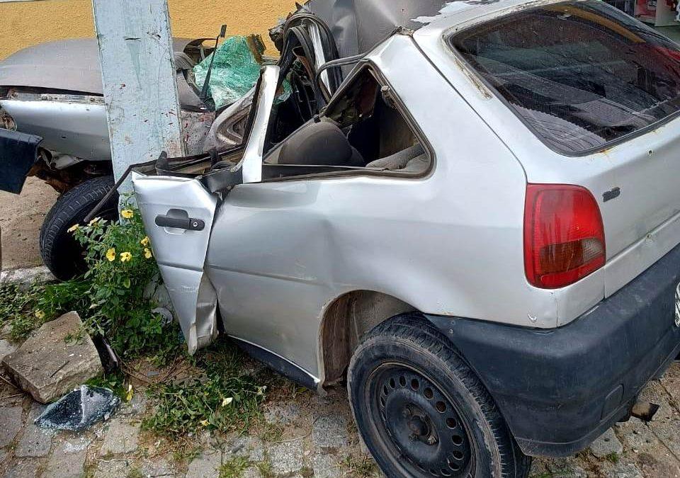 Acidente deixa homens feridos em Campos