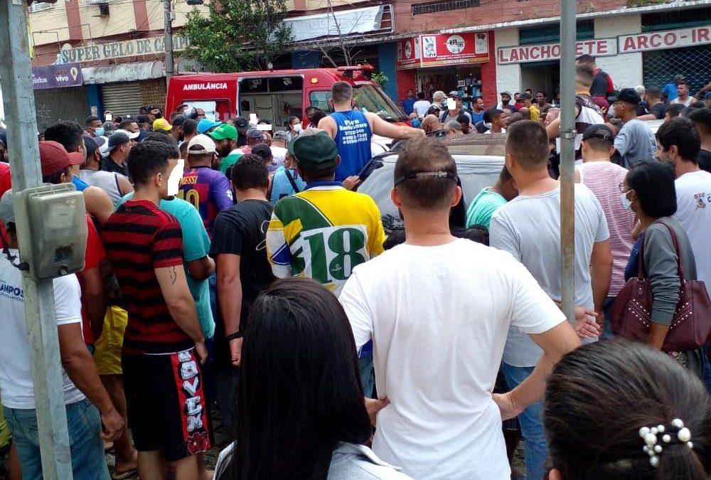 Campos registra homicídio em plena luz do dia